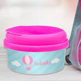 Pink Hot Air Balloon Snack Bowls Gifts