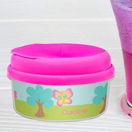 Cute And Sweet Butterfly Personalized Snack Bowls
