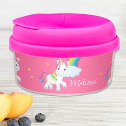 Rainbow Unicorn Snack Bowls For Kids