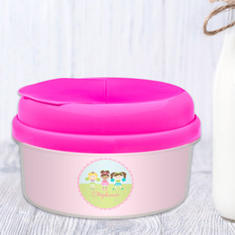 Three Cheerleaders Snackbowls For Toddlers