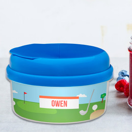 My Love For Golf Snackbowls For Toddlers