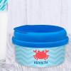 Happy Crab Toddler Snack Bowl