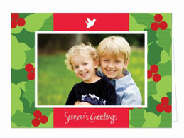 christmas cards personalized | Christmas Spirit Christmas Photo Cards by Spark & Spark