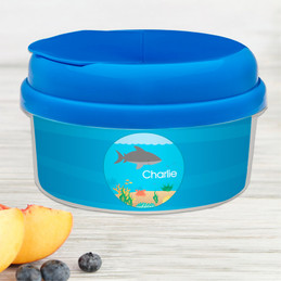 Shark Waves Snackbowls For Toddlers