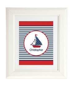 Set Sail Kids Wall Art