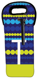 Simply Yellow Dots Wine Tote