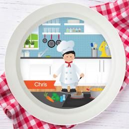 A Boys Chef's Taste Kids Bowl