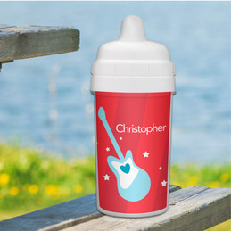 Best Sippy Cup with Rock My World design