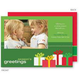 Festive Gifts Christmas Photo Cards