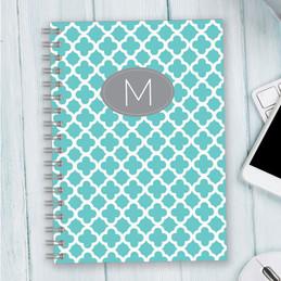 Quatrefoil Beauty Writing Journal