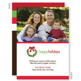 Personalized Christmas Cards | Holiday Joy Christmas Photo Cards by Spark & Spark