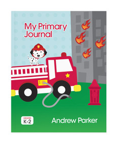Fighting Fire Personalized Primary Journal