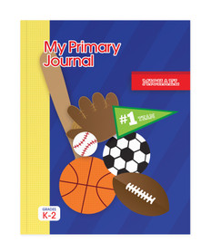 My Love for Sports Personalized Primary Journal