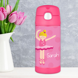 Love for Ballet Thermos Bottle For Kids