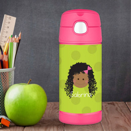 Green Just Like Me Personalized Thermos For Kids