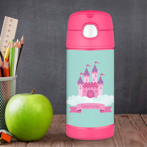 A Castle in the Sky Thermos Bottle