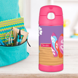 Surf Boards Personalized Thermos For Kids