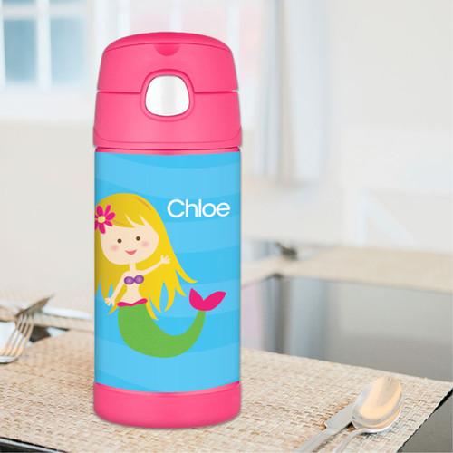 Cute Mermaid Thermos Bottle
