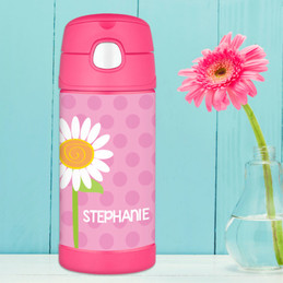 A Daisy for You Personalized Thermos For Kids