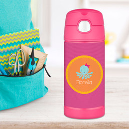 Cute Octopus Thermos Bottle