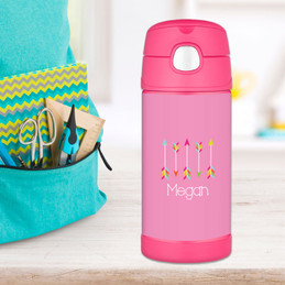 Colorful Arrows Thermos Bottle
