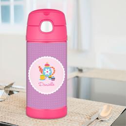 Tea Time Thermos Bottle
