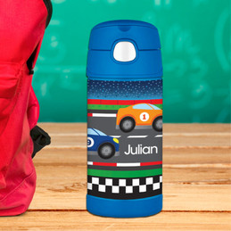 Race To Finish Kids Thermos