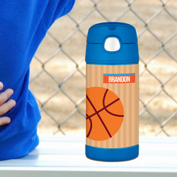 Basketball Fan Thermos
