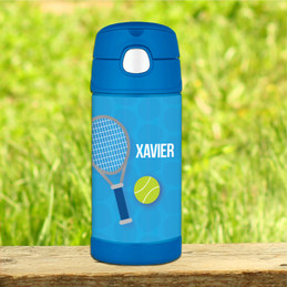 Tennis Fan Personalized Funtainer Bottle