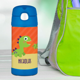 Baby Dinosaur Thermos Bottle