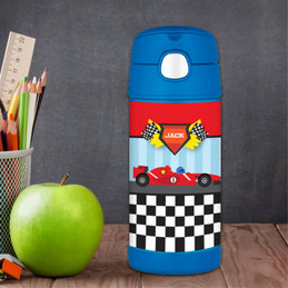 Fast Race Personalized Thermos Funtainer