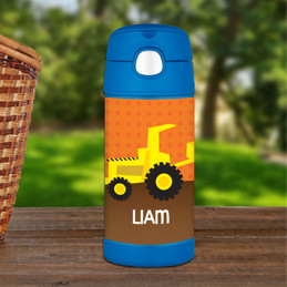 Fun Tractor Thermos Bottle