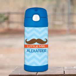 Little Mr. Mustache Thermos Bottle