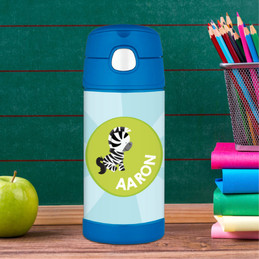 Cute Baby Zebra Thermos Bottle