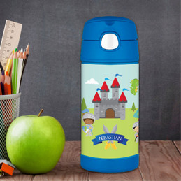 The Three Knights Personalized Boy Thermos