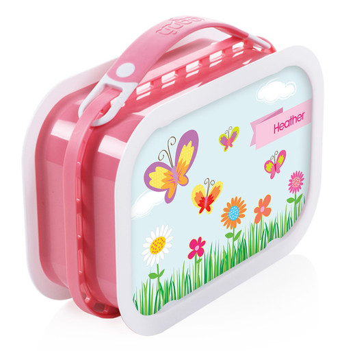 A Butterfly World Personalized Yubo® Lunchbox