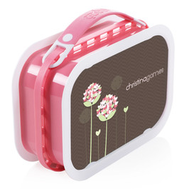 Blossoms On Chocolate Personalized Yubo® Lunchbox