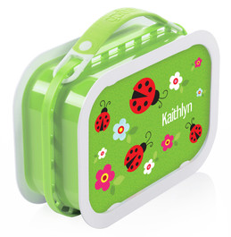 Curious Lady Bug Personalized Yubo® Lunchbox