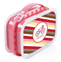 A Lovely Girl Ride Personalized Yubo® Lunchbox