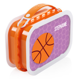 Basketball Fan Personalized Yubo® Lunchbox
