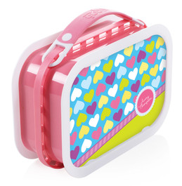 Happy Hearts Personalized Yubo® Lunchbox