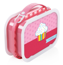 Rainbow Cupcake Personalized Yubo® Lunchbox