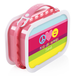 Peace & Love Signs Personalized Yubo® Lunchbox