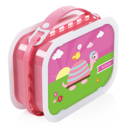 Turtle and Happy Bird Personalized Yubo® Lunchbox