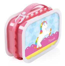Cute Rainbow Pony Personalized Yubo® Lunchbox