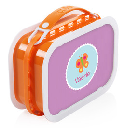 Sweet Butterfly Personalized Yubo® Lunchbox