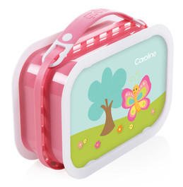 Cute and Sweet Butterfly Personalized Yubo® Lunchbox