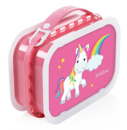 Rainbow Unicorn Personalized Yubo® Lunchbox