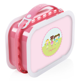 Three Cheerleaders Personalized Yubo® Lunchbox