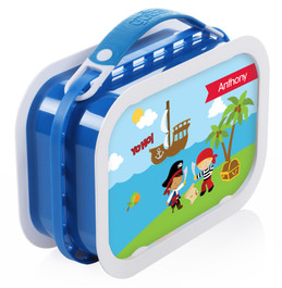 Yo Ho Pirate Personalized Yubo® Lunchbox